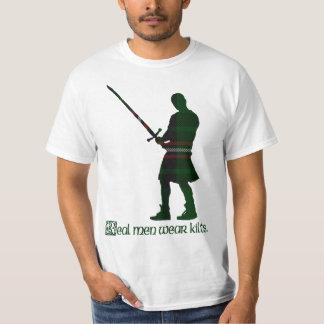 Real Men Wear Kilts Page Scottish Tartan T-Shirt