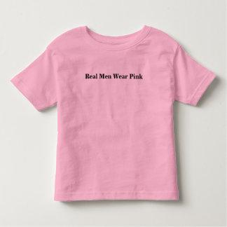 Real Men Wear Pink Toddler T-shirt