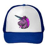 Real men wear unicorn hats. trucker hat