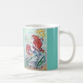 Real Mermaid Fantasy Art Mug