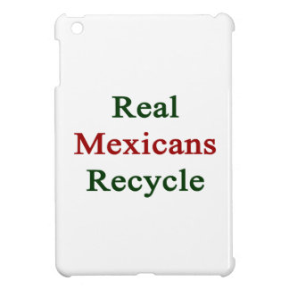 Real Mexicans Recycle Case For The iPad Mini