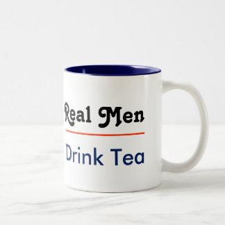 Real one drinks Tea Two-Tone Mug
