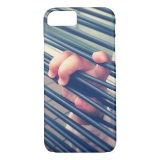 Real photo baby hands - hold me tight my love iPhone 8/7 case