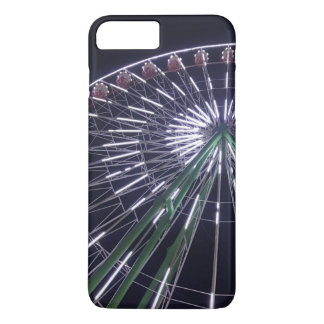 Real photo ferris wheel, bright lights, festival iPhone 8 plus/7 plus case