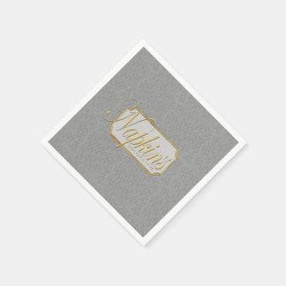 Real Platinum Decorative Paper Napkin