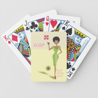 Real Pretty Girls playing card