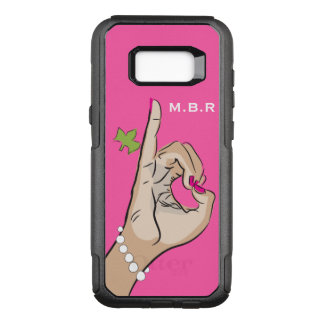 Real Pretty pink and green love OtterBox Commuter Samsung Galaxy S8+ Case