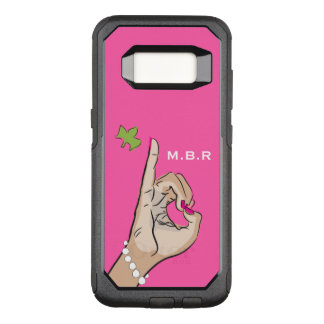 Real Pretty pink and green love OtterBox Commuter Samsung Galaxy S8 Case