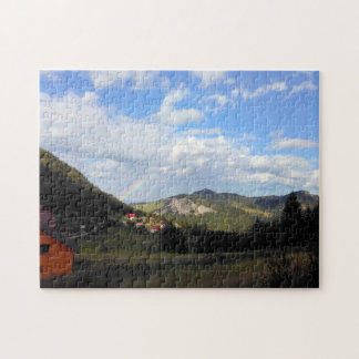 Real Rainbow In The Valley Jigsaw Puzzle