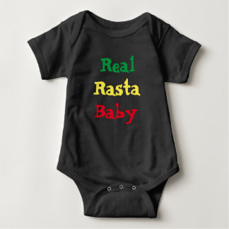 Real Rasta Baby Baby Bodysuit
