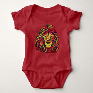 Real Rasta Lion Baby Bodysuit