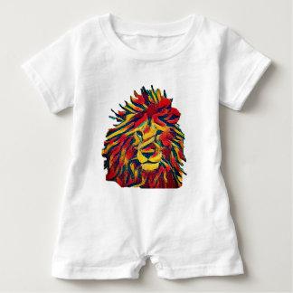 Real Rasta Lion Baby Romper