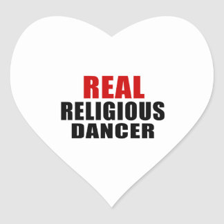 REAL RELIGIOUS HEART STICKER
