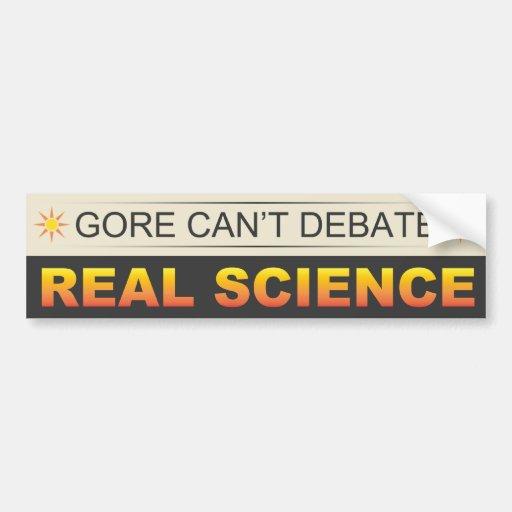 Real Science Car Bumper Sticker