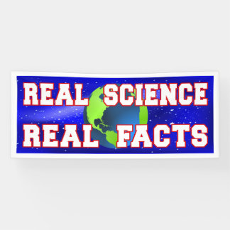 """""""Real Science Real Facts"""" version 2 Banner"""