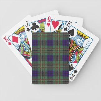 Real Scottish tartan - Kennedy Poker Deck