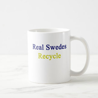 Real Swedes Recycle Coffee Mug
