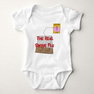 Real Swine Flu Baby Bodysuit