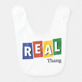 Real Thang Baby Bib