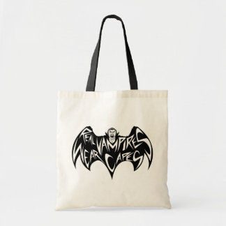 Real Vampires Wear Capes Dracula Canvas Bags