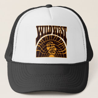 Real Wild West Indian Style Trucker Hat