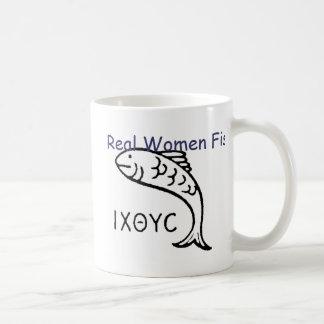 Real Women Fish Ithicus Mug