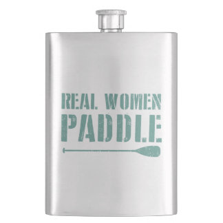 Real Women Paddle Hip Flask