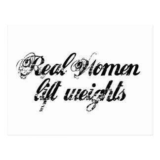 Real women postcard