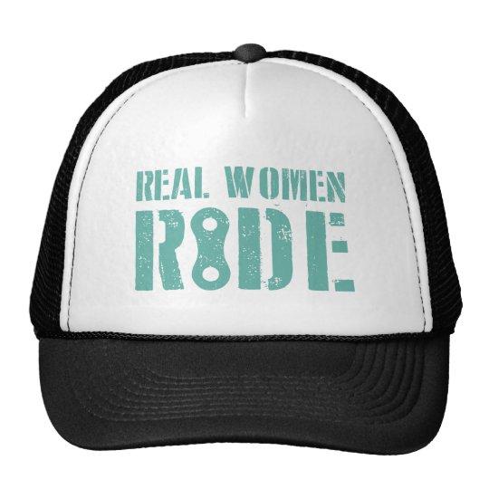 Real Women Ride Trucker Hat