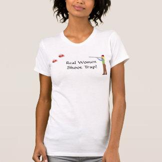 Real Women Shoot Trap! T-Shirt