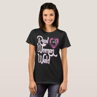 Real Women Weld Welders Tshirt