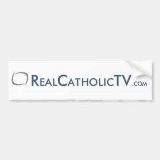 RealCatholicTV.com Bumper Sticker