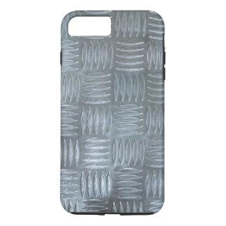 Realistic Aluminum Anti-Slip Sheet Texture Photo iPhone 7 Plus Case