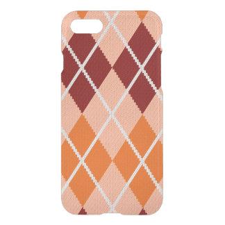 Realistic Argyle Cloth iPhone 7 Case
