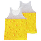 Realistic Beer All-Over-Print Tank Top