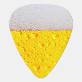 Realistic Beer Guitar Pick