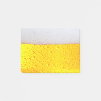 Realistic Beer Post-it Notes
