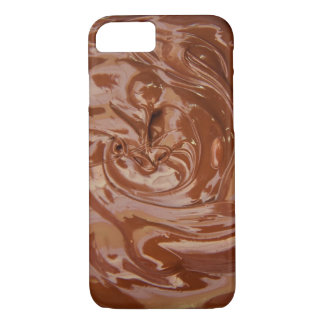 realistic Dipped in chocolate Iphone Case
