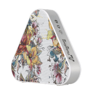 Realistic drawn Floral bouquet pattern Blueooth Speaker
