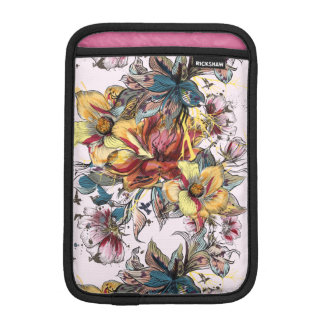 Realistic drawn Floral bouquet pattern iPad Mini Sleeve
