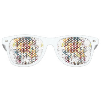 Realistic drawn Floral bouquet pattern Party Shades