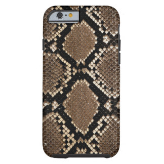 Realistic Faux Snake Skin Animal Print Tough iPhone 6 Case