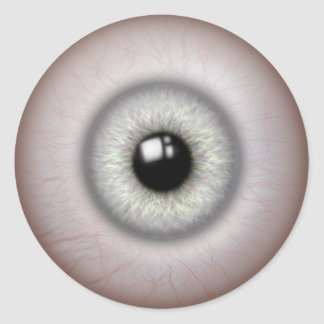 realistic looking eyeball stickers