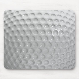 Realistic Looking Golf Ball Texture Pattern Mouse Pad