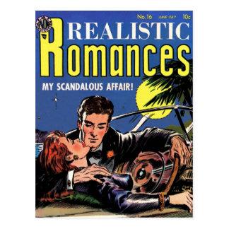"""Realistic Romances #16""  Postcard"