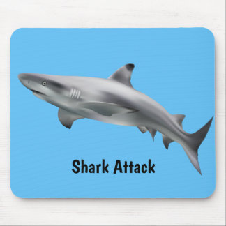 Realistic Shark Mouse Pad