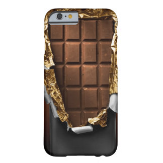 Realistic Unwrapped Chocolate Bar iPhone 6 case Barely There iPhone 6 Case