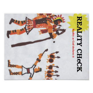 Reality Check - David & Goliath Poster