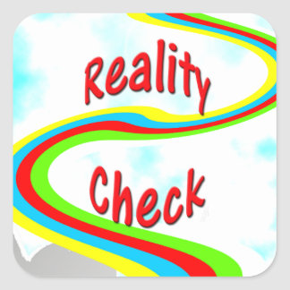 Reality Check - sticker
