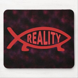 Reality Darwin Fish Mouse Pad